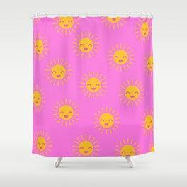 Little Sunshine (pink) Shower Curtain