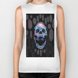 Crystal Skull Biker Tank