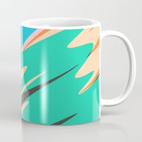 kids Mugs featuring Kids by Celery Woulise