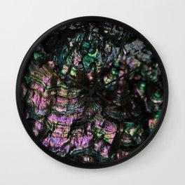 Abalone Shell 4 Wall Clock