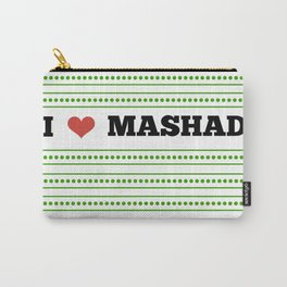 I Love Mashad Carry-All Pouch