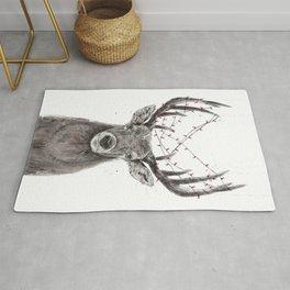 Xmas deer Rug