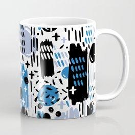 Blue Memphis Coffee Mug