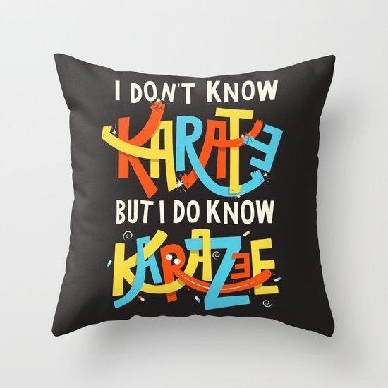 Mind over matter Throw Pillow