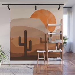 Desert Landscape Wall Mural
