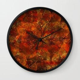 Autumn moods n.2 Wall Clock