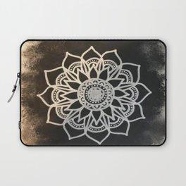 Black Fade Mandala Laptop Sleeve