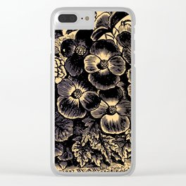 BEGONIA 1895 Clear iPhone Case