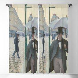 Paris Street; Rainy Day Blackout Curtain