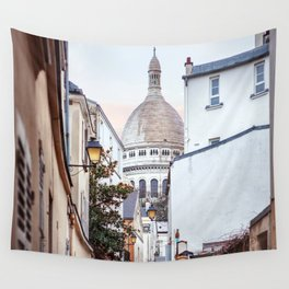 I love Montmartre, Paris. Wall Tapestry