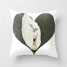 Mother Swan II Throw Pillow