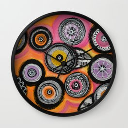 Flowers #10 Wall Clock
