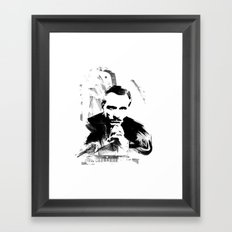 Piano Genius Framed Art Print