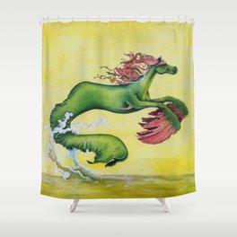 Hippocampus Sea Horse Shower Curtain