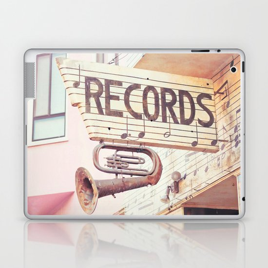Records Laptop & iPad Skin