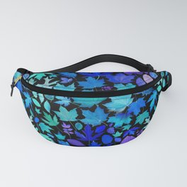 Fallen Autumn Leaves Looking Up from Underwater Fanny Pack