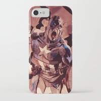 captain silva iPhone & iPod Cases featuring captain by Flo Zero