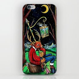 The Night Watchman iPhone Skin