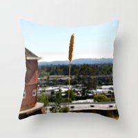 country Throw Pillows featuring Country by Dee Reimer