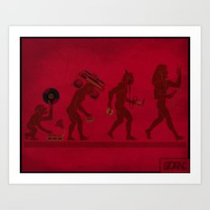 Music (R)Evolution 1.0 Art Print