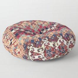 Kagizman Gaziantep Southeast Anatolian Rug Print Floor Pillow