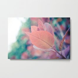 Natures Watercolor Metal Print