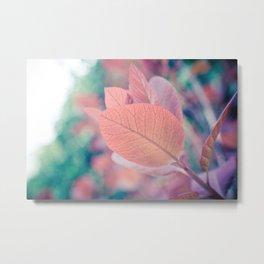 Natures Watercolor Metal Print