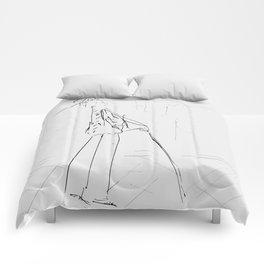 Monsieur De Matisse à la promenade [Mister De Matisse goes for a walk] Comforters