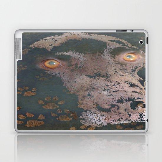 leaving his print Laptop & iPad Skin