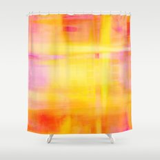 Happy Thoughts no01 Shower Curtain