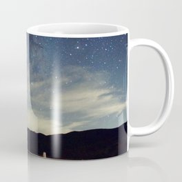 Night sky over Prairie Coffee Mug