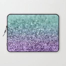 Mermaid Girls Glitter #9 #shiny #decor #art #society6 Laptop Sleeve