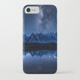 Night mountains iPhone Case