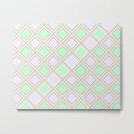 A squares game Metal Print