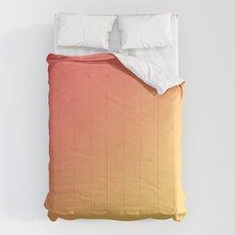 TANGERINE / Plain Soft Mood Color Tones Comforters