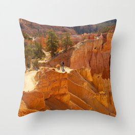 Sunrise Point at Bryce Canyon Throw Pillow