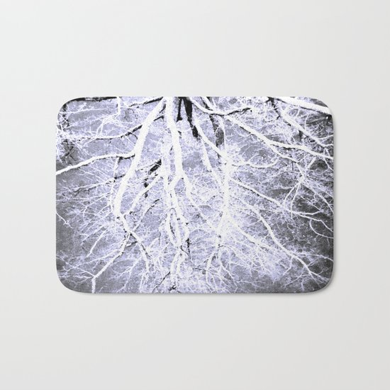 passage to hades color drained gray Bath Mat
