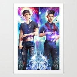Dakimakura Magnus & Alec Art Print