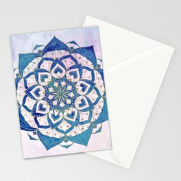 PISCIS CONSTELLATION MANDALA Stationery Cards