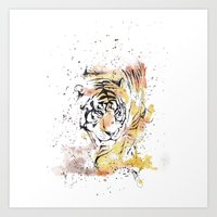pride Art Prints featuring Pride by Liza's Brushes