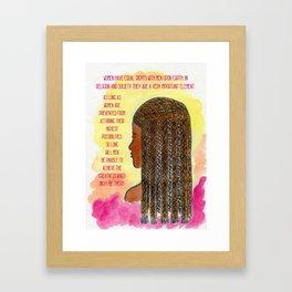 Education of Women Framed Art Print