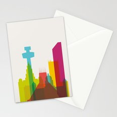 Shapes of Liverpool. Accurate to scale. Stationery Cards
