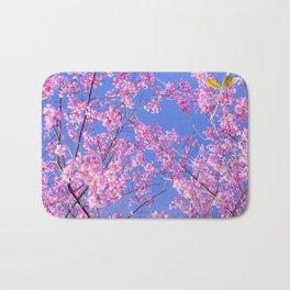 Peach blossom, Peach flower, Photo flower, beautiful view, Peach blossom hill,  Bath Mat
