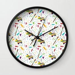 Piñatas Wall Clock