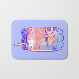Peach Bubbles Bath Mat