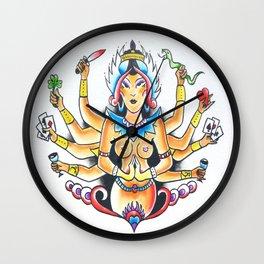 Kali Traditional  Wall Clock