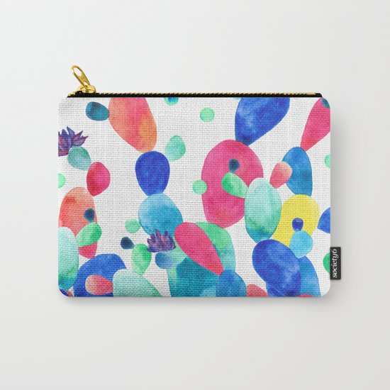 Cacti Confetti Carry-All Pouch