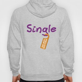 Single Do Not Disturb Hoody
