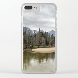 Just Another Place in My Heart Clear iPhone Case