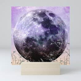 MOON under MAGIC SKY VII-1 Mini Art Print